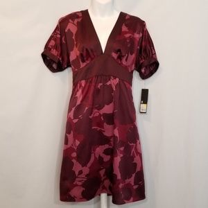 MOSSIMO Floral Batwing Dress Sz S